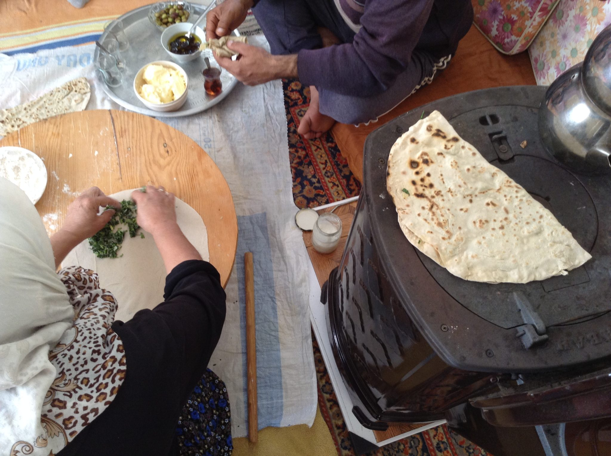 Lavas (fladbrød) og dip opskrifter • Alanya.Dk - Den store guide til Alanya