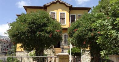 Atatürks hus, Atatürk, ataturk, tyrkiets leder, hus i alanya, gratis oplevelser i alanya, Atatürk hus i alanya