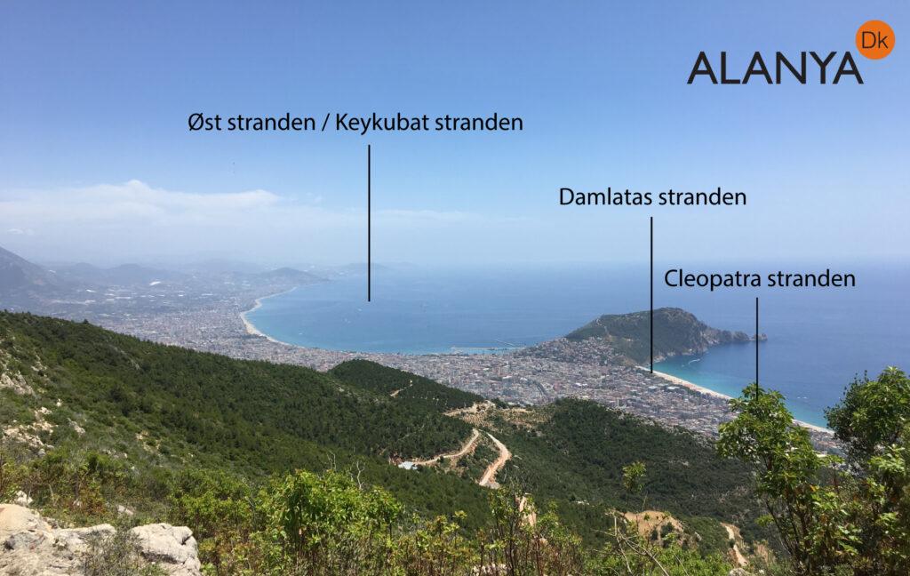 Alanyas strande, guide til Alanya, de bedste strande i Alanya, Alanya´s bedste strand, strand nær Alanya, Øst stranden i  Alanya, Damlatas strande Alanya, Cleopatra straden Alanya