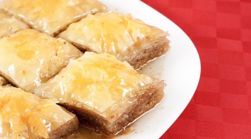 baklava, tyrkisk dessert, tyrkisk værtindegave, hvad er tradition i tyrkiet, hvad er baklava, hvor kan man købe baklava, hvor kommer baklava fra, hvordan lavet man baklava