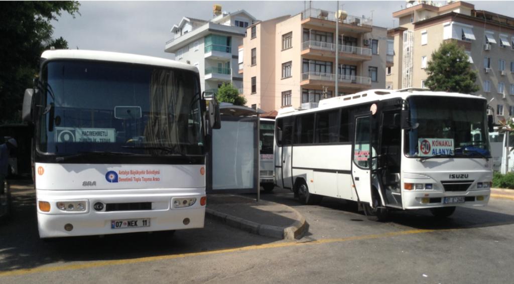 Dolmus busserne, Bybussen alanya, bus ruter alanya, bysusserne i alanya, busplan alanya, busserne i alanya