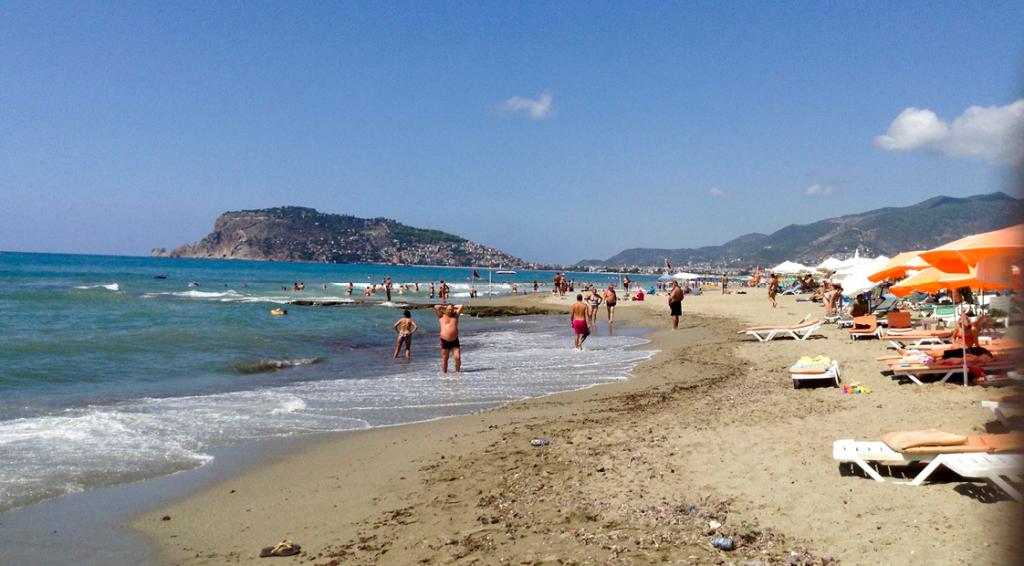 guide til strandene i Alanya, Alanya strande, guide itl Alanya´s strand, strand guide
