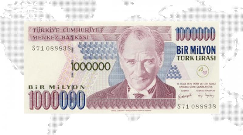 tyrkisk lira, den tyrkiske lira, lira, valuta i tyrkiet, lira