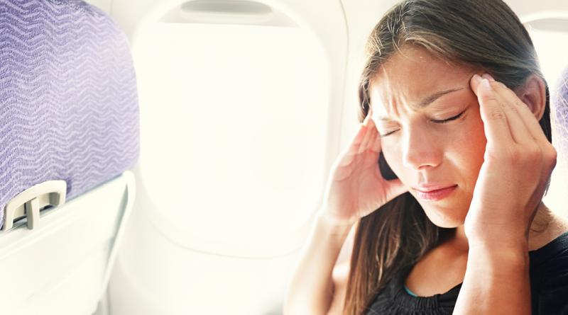 øre problemer, problemr med ørene når du flyver, øre smerte ved flytur, smerter i ørene på flytur
