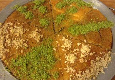 Tyrkisk ostekage – Künefe