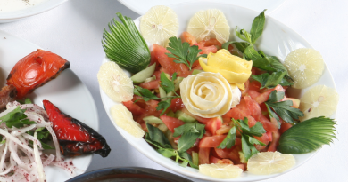 tyrkisk opskrifter, opskrifter tyrkisk, tyrkisk hyrde salat, tyrkiske salater