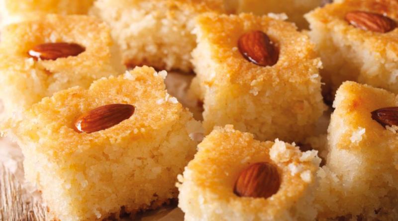 revani tyrkiske kager, tyrkiske kager, kager fra tyrkiet, tyrkiske opskrifter, opskrifter fra tyrkiet, tyrkiske kage opskrifter