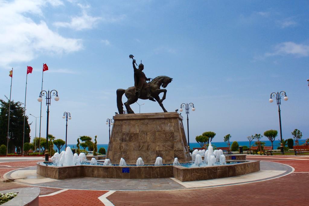 Alaeddin Keykubad, Alaeddin Keykubad statue, alanya historie