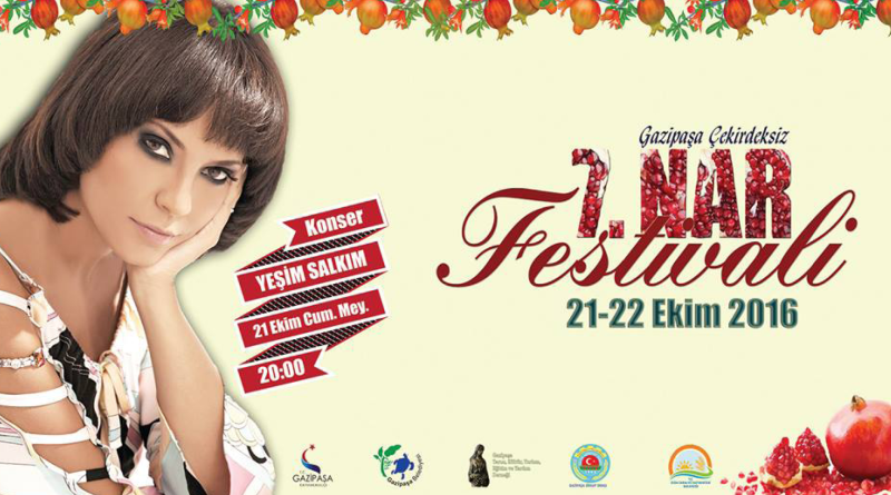gazipasa granatæble festival, granatæble festival alanya, alanya granatæble festival, gazipasa festival