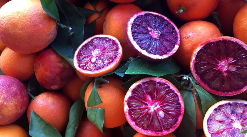 blodappelsin, bazar alanya, alanya bazar, frugter fra middelhavet,