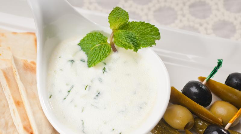 tyrkisk mad, mad fra tyrkiet, tyrkiske opskrifter, haydari opskrift, yoghurt dip,