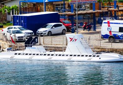 Turist ubåden i Antalya