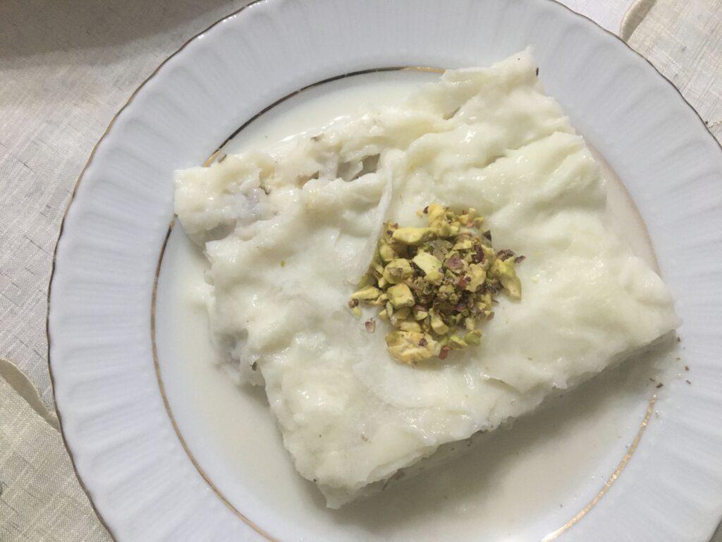 Güllac kage, ramadan kage, tyrkisk kage, kage fra Tyrkiet, Ramadan kage, Ramazan kage, opskrifter på tyrkisk kage, tyrkiske opskrifer, tyrkisk mad