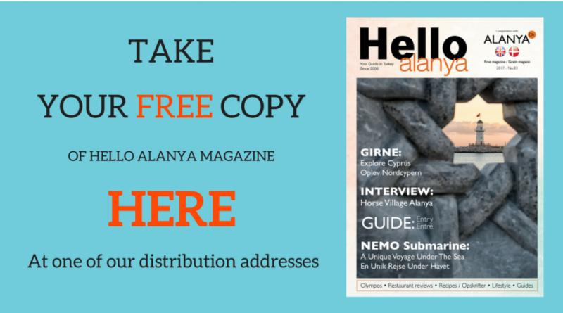 alanya dk magasin, hello magazine, alanya magazine