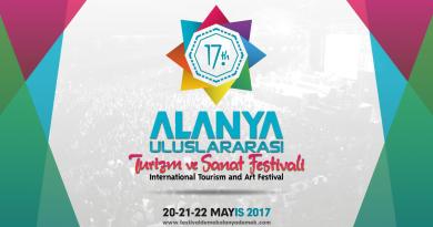 alanya festival, 17. internationale turist festival, turist festival alanya
