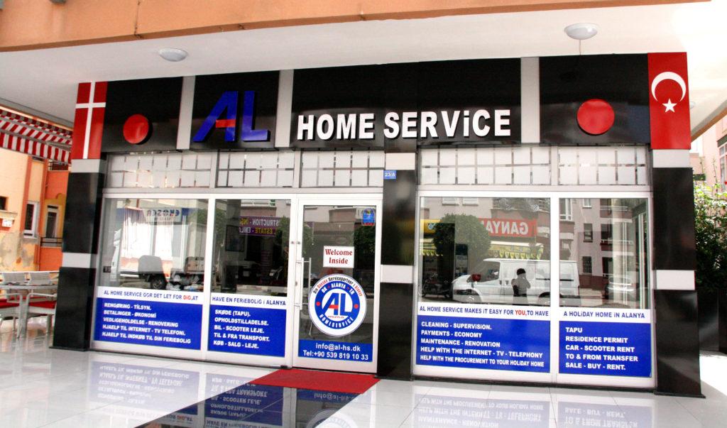 Al home service, home service alanya, al home service, danske virksomheder i Alanya