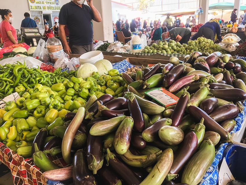 oktober marked, markeder i Alanya, bazar i Alanya, Bazar, alanya bazar, frugt marked i Alanya, oktober i Alanya
