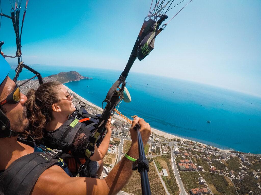 Paragliding alanya, alaya paragliding, seværdigheder i alanya, alanya seværdigheder, oplevelser i alanya, rejseblog,