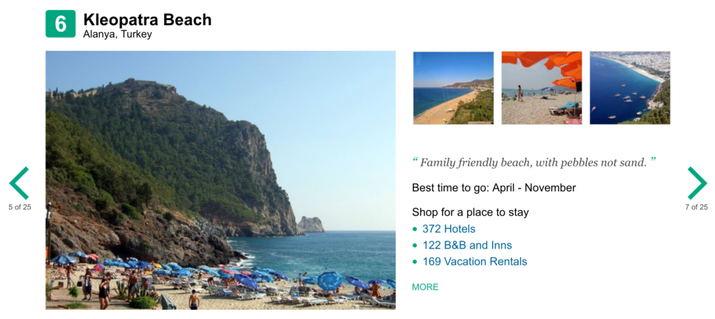 trip advisor, de bedste strande i europa europa de bedste strande, kleopatra beach stranden, alanya stranden