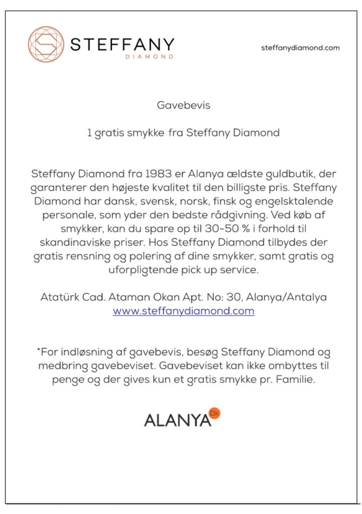 Steffany Diamond, Steffany Diamond søger, guldsmed i alanya, tiffany alanya, tiffany skifter navn, alt om alanya, fakta om alanya, besøg alanya, alanya