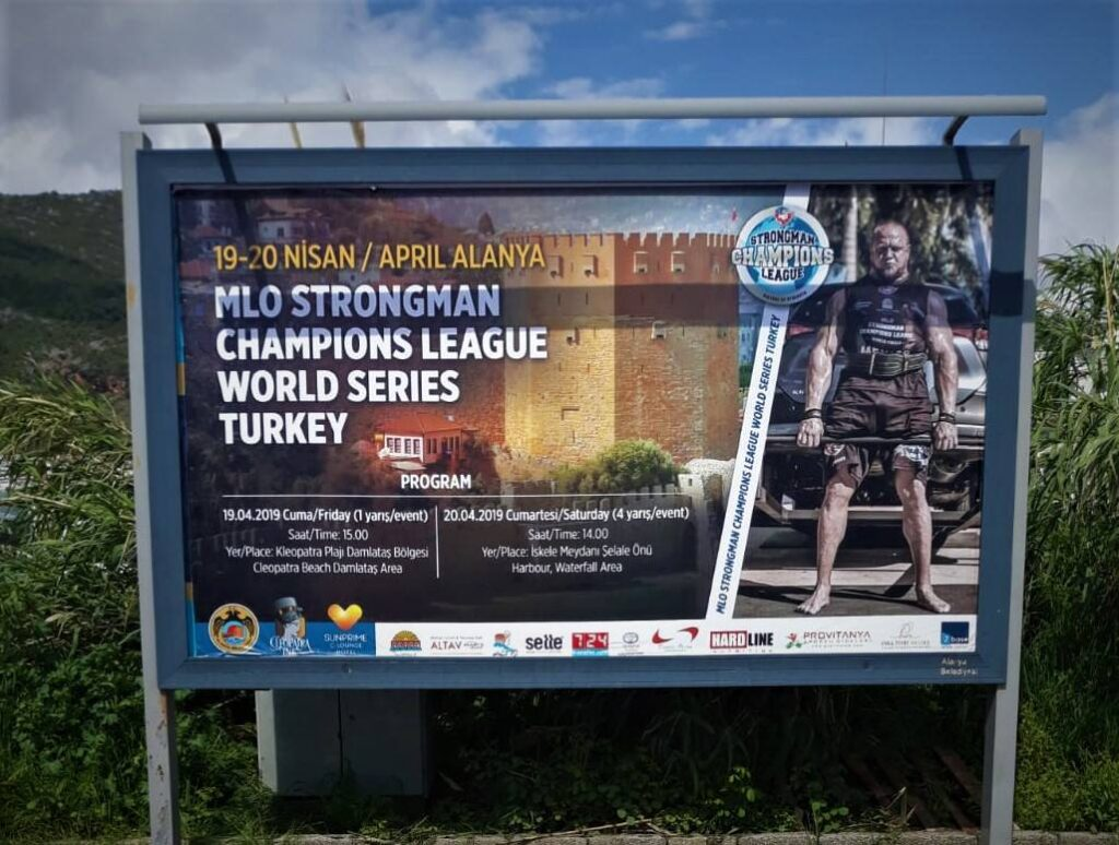 Strongman Champions league Alanya, Alanya strongman, verdens stærkeste man, stærk mand Alanya