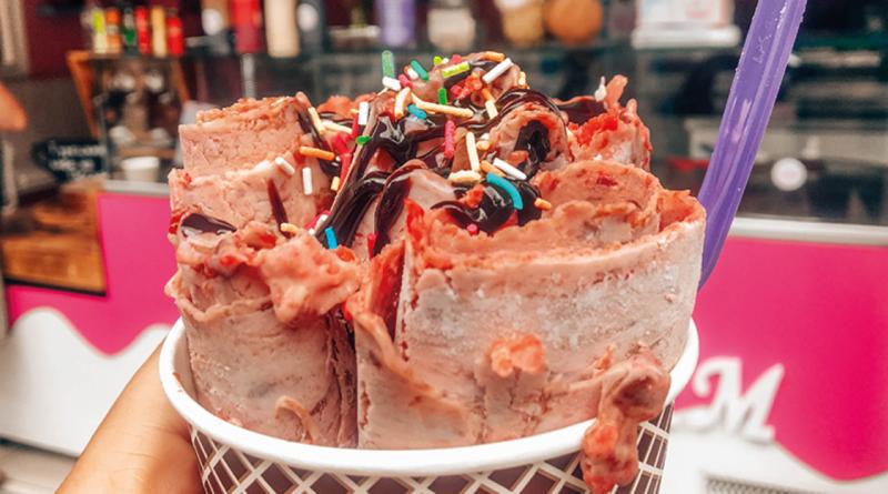 rolling ice cream, is fra tyrkiet, tyrkisk is, is fra Tyrkiet