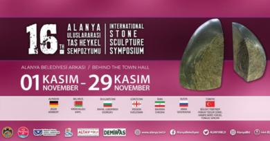 sten skulptur, alanya festival, sten symposium alanya
