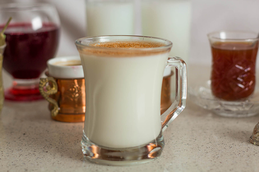 Salep, tyrkisk salep, varm salep, orkide drink, drikkeligt risengrød, tyrkiske drikkevare,