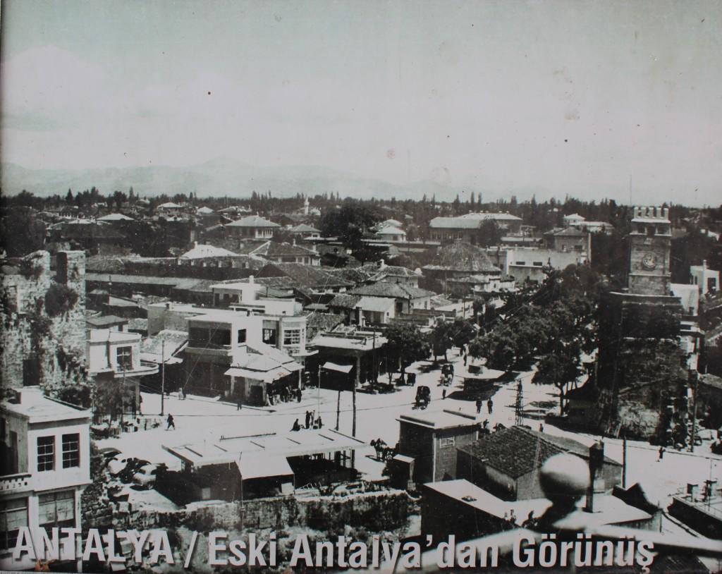 Gamle billeder af Antalya, Antalya bydel, gamle billeder af Tyrkiet, Tyrkiet gamle billeder, sort hvide billeder af Tyrkiet, hvordan så Tyrkiet ud før i tiden