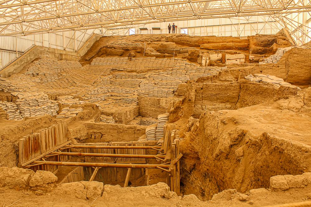 catalhoyuk, Çatalhöyük, anatolske højslette, yngre stenalder, Unesco Tyrkiet, Tyrkiet Unesco, verdens ældste beboelse, verdens ældste by