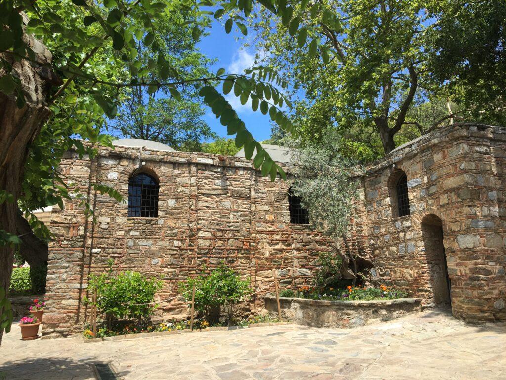 Meryemana Evi, Jomfru maria´s hus, hus for jomfru maria, hvor er jomfru marias hjem, museum jomfru maria, Efesos, unikke steder i Tyrkiet, Tyrkiet unikke