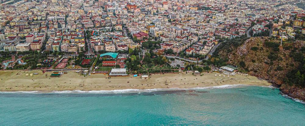 seværdigheder i alanya, alanya seværdiheder, oplevelser i alanya, Kleopatra stand, Cleopatra beach, Cleopatra strand, europas bedste strande,
