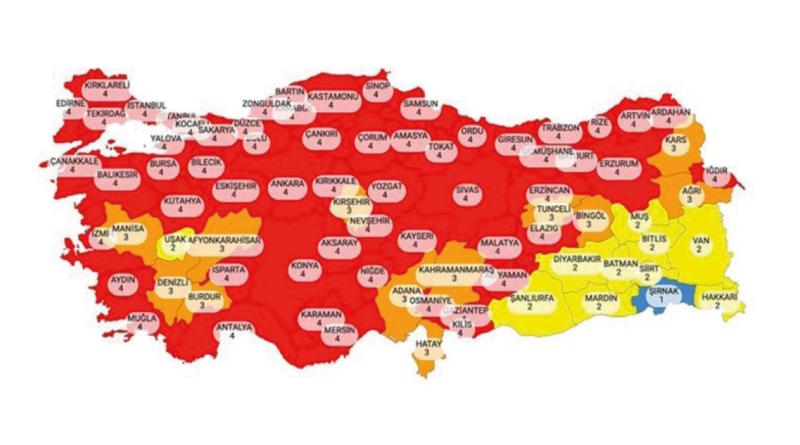 Alanya Corona, Tyrkiet nyheder, Alanya karantæne, Karantæne i Alanya, Restriktioner i Tyrkiet, Restriktioner i Alanya,