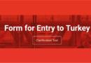 Tyrkiet indrejseformular, indrejseformular til Tyrkiet, Tyrkiet 2021, Kan man rejse til Tyrkiet, Tyrkiet 2021 rejser, formular til at indrejse i Tyrkiet